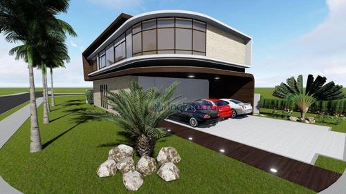 Casa À Venda, 320 M² Por R$ 3.500.000,00 - Alphaville Ii - Londrina/pr - Ca2054