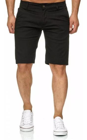 Shores/bermudas De Verano Para Hombre Drill Strech Pantalón