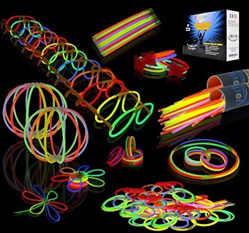 Toy 200 Barras Luminosas Glowsticks De 8 Pulseras Collares