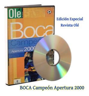 Boca Campeón Apertura 2000 Dvd Especial Diario Olé