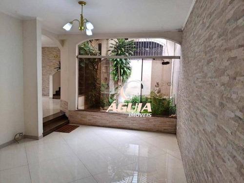 Imagem 1 de 24 de Casa Com 3 Dormitórios À Venda, 261 M² Por R$ 1.250.000,00 - Santa Maria - Santo André/sp - Ca0715