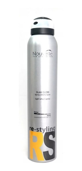 Spray De Brillo Natural Efecto Light Nouvelle Italia