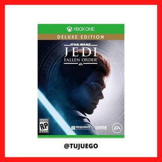 Juego Star Wars Jedi Fallen Order Para Xbox One - 100% Segu