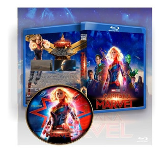 Capitana Marvel, Pelicula Completa Blu Ray Full