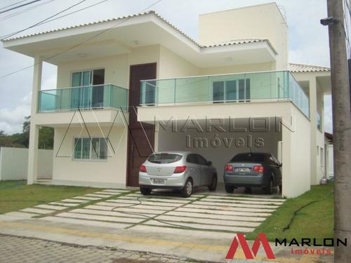 Vc01030 Casa Condominio Vila Dos Lagos Em Ponta Negra