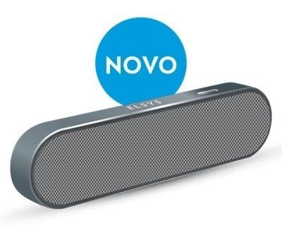 Caixa Som Bluetooth Duplo Estereo Cinza Elsys Eas053dm-2