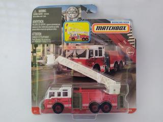 Matchbox Pierce Velocity Aerial Platform Fire Truck 10 Cm