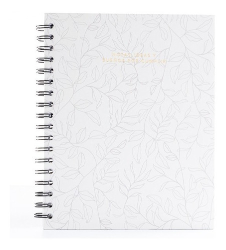Cuaderno Rayado Argollado - Papelí - Blanco Hojas