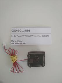 Botão Power Tv Philco Ptv40e60snc Cód.n91