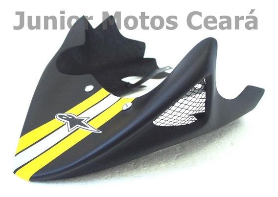 Bico De Pato Spoiler Titan 150 2004 A 2008 Preto Fosco