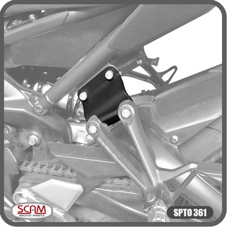 Spto361 Scam Alongador Pedaleira Garupa Yamaha Mt09 2015+