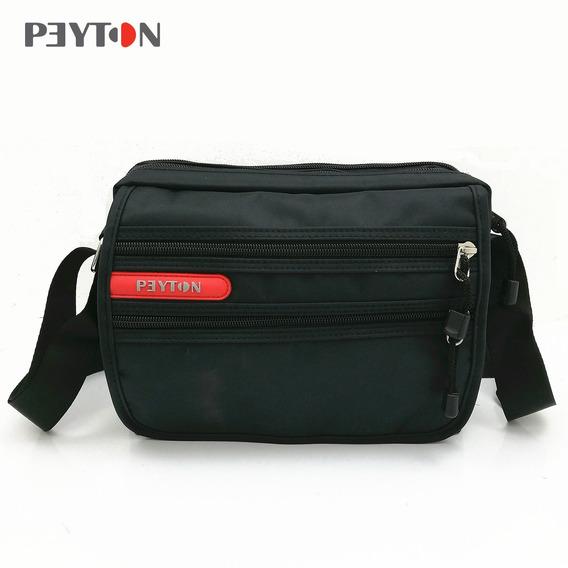 Morral Horizontal Peyton Art. 7732 Nylon 100% C/ Tapa