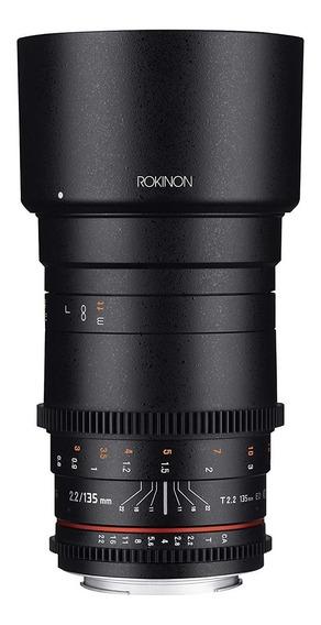 Lente Rokinon 135mm F/2.2 Ed Umc Para Canon Ef (135m-c)
