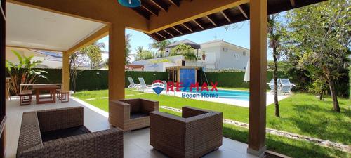 Casa Com 4 Dormitórios À Venda, 333 M² Por R$ 2.200.000,00 - Acapulco - Guarujá/sp - Ca0307