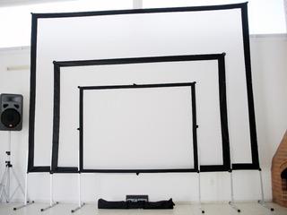 Marco De Aluminio Y Lienzo Dual 3x2 American Screens
