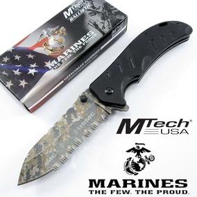 Navaja Tactica Mtech Raider Marines Con Licencia Oficial