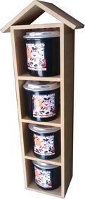 Kit Cozinha N33 Barato Kit Cond Casa Vertical C4 Potes Alum