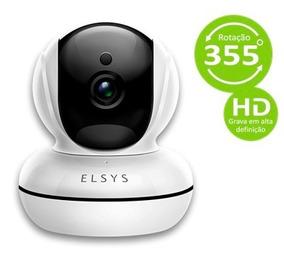 Câmera De Segurança Wi-fi Hd Com Infravermelho