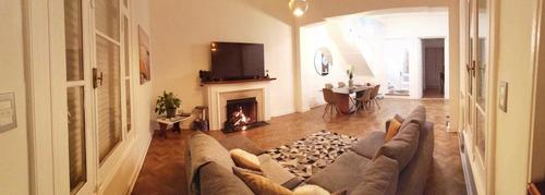 Hermosa Casa En Venta, 5 Dorm, 5 Baños Y 2 Garage, Pocitos