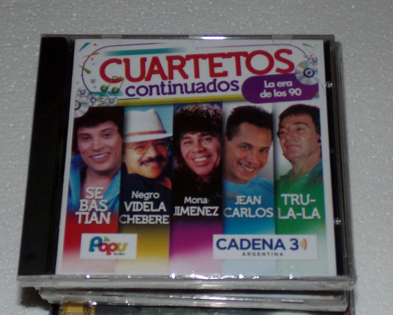 La Popu Cadena 3 Mona Jimenez Trula Cuartetos Cd / Kktus