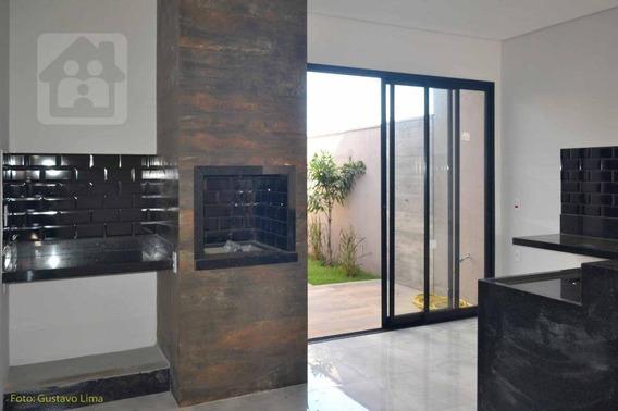 Casa Com 3 Dormitórios À Venda, 160 M² Por R$ 420.000,00 - Residencial Barcelona - Araçatuba/sp - Ca0854