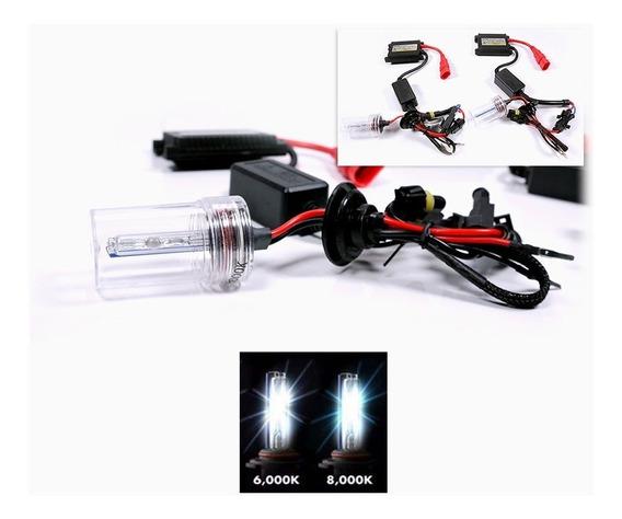 Kit Xenon Completo H1 H3 H7 H8 H11 H27 9005/6 6000k 8000k