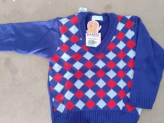 Blusa Suéter Infantil Lã