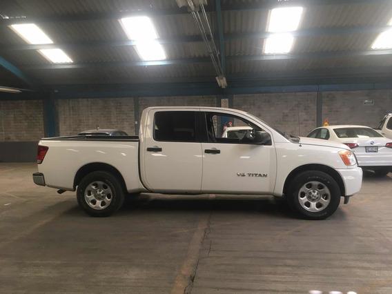 Nissan Titan 5.6l Crew Cab S 4x2 Mt 2014