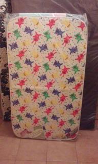 Colchón Infantil De Cuna 100x70x10 Marca Taurus