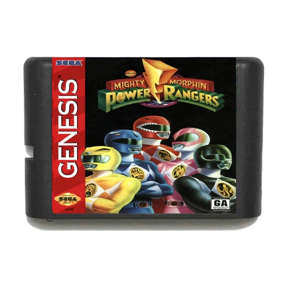 Pawer Rangers Mega Drive