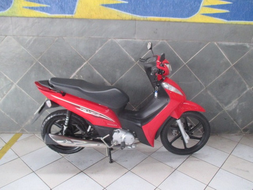 Honda Biz 125 Flex Vermelha 2017