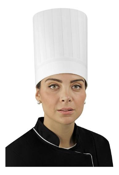 Gorro Para Chef Alforzado E9 Unisex Permachef