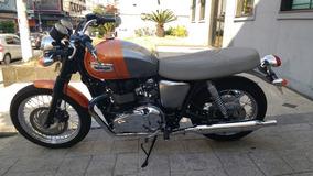 Triumph Bonnevile T 100 2015 Apenas 1.100 Km Troco Moto Fina