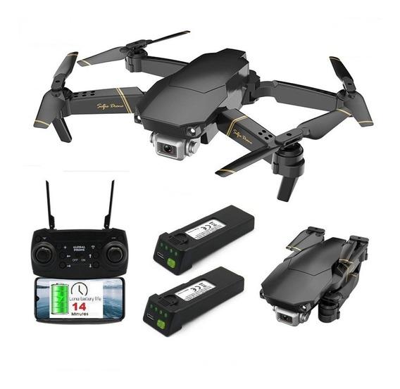 Drone Completo Câmera 1080p Filma Fotografa Ao Vivo + 2 Bat