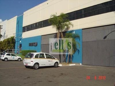 Galpão Comercial Para Locação, Jardim Belval, Barueri - Ga0061. - Ga0061