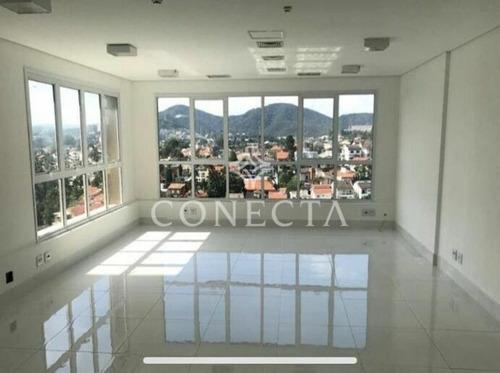 Imagem 1 de 3 de Alpha Offices - Alphaville Conde 2 - Sala De 80m² - Andar Alto; Vista Panorâmica; 2 Vagas; Piso Em Porcelanato - Cncd181