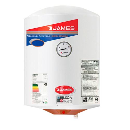 James - Termotanque 30 Lts - Acero - Cilindrico Bigsale