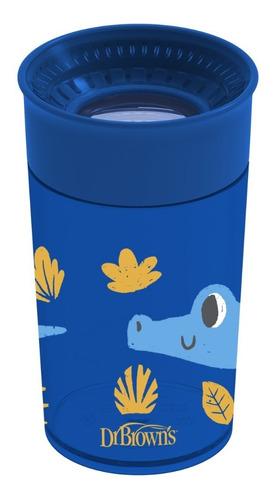Imagen 1 de 1 de Vaso Cheers De 10oz Azul Con Diseño