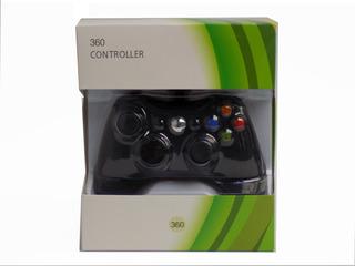 Control Alambrico Para Xbox 360 Y Pc En Caja Importado Oem