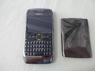 Nokia E71 Preto - Para Retirada De Peças