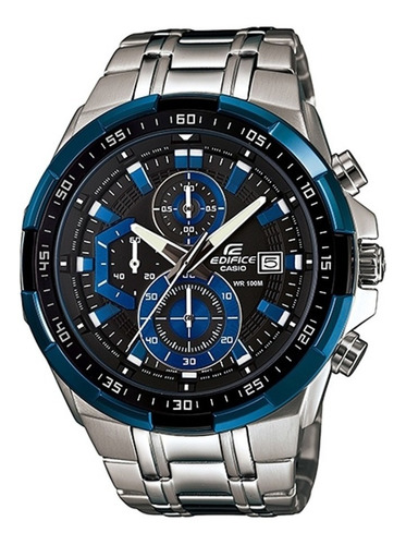 Reloj Casio Edifice Efr-539d-1a2 Cronografo Original Acero