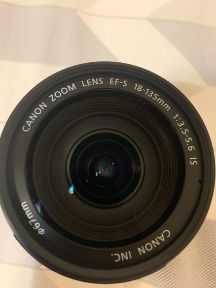 Lente Cânon 18-135mm
