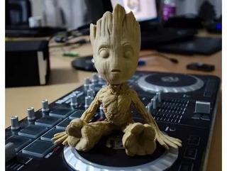 Baby Groot Muñeco De Guardianes De La Galaxia 12cm