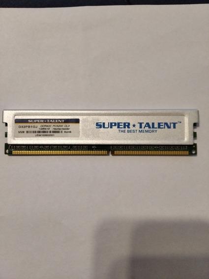 Memoria Super Talent D32pb1gj Ddr400 1g/64x8