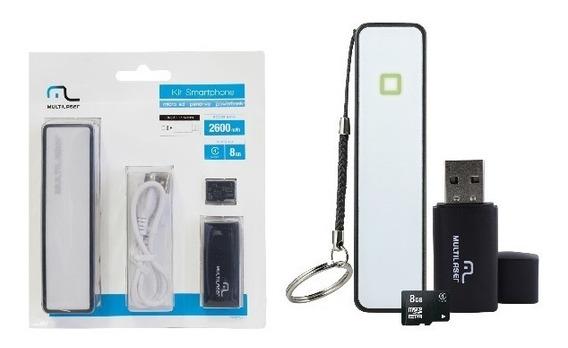 Kit Smartphone- Micro Sd. Pendrive. Powerbank
