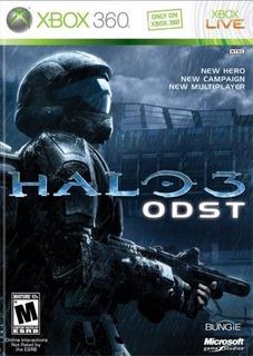 Juego Halo 3 Odst Sellado Fisico