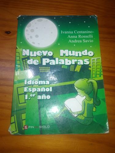 Nuevo Mundo De Palabras Idioma Español 1