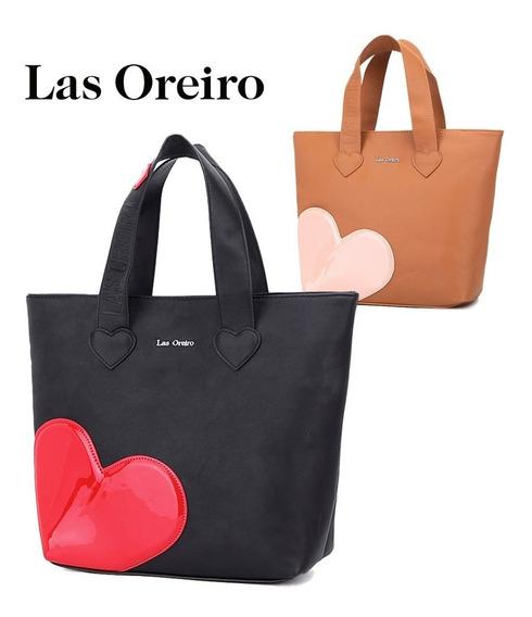 Cartera Shopper Mujer 100% Pu Las Oreiro Original Y Otras