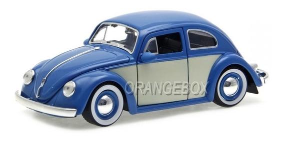 Volkswagen Fusca 1959 Jada Toys 1:24 Azul