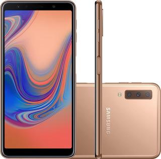 Smartphone Samsung Galaxy A7 Octa-core 128gb Cobre Sm-a750g